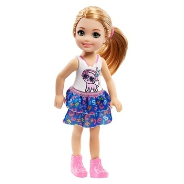 Barbie Barbie Chelsea Bebekler Renkli